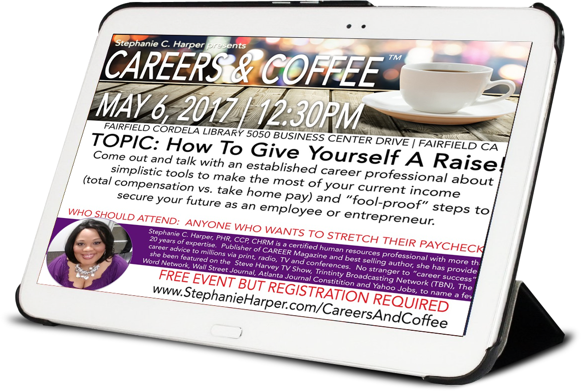 Careers and coffee stephanie c harper phr ccp chrm certified are you coming to careers and coffee on may 6 2017 stephanieharpercareersandcoffee xflitez Choice Image