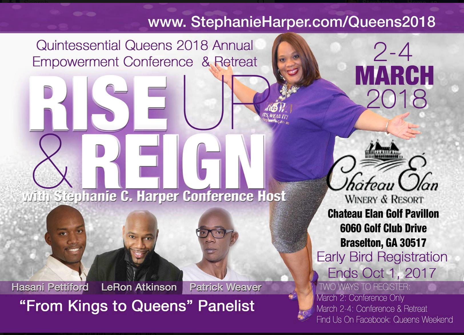 Queens 2018 stephanie c harper phr ccp chrm certified human queens 2018 march 2 4 2018 atlanta ga xflitez Choice Image